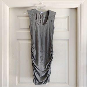Standard James Perse Gray Scrunch Dress C28